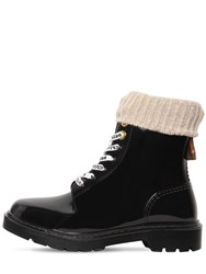 See By Chloe 20Mm Florrie Pvc Ankle Boots Black