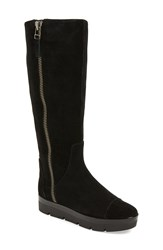 Nine West 'Gladys' Tall Boot Women Black Suede