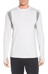 Tasc Performance Men's Charge Sweatshirt Light Heather Gray