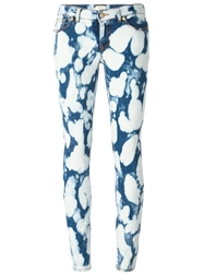 Fausto Puglisi Acid Wash Jeans Blue