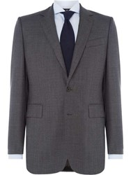Chester Barrie Men's Albermarle Worsted Twill Suit Grey