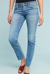 Anthropologie Citizens Of Humanity Arielle Mid Rise Skinny Jeans Denim Medium Blue