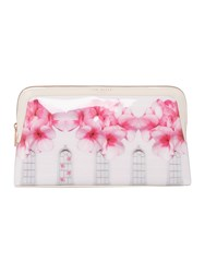 Ted Baker Blythe Window Large Cosmetic Bag Light Pink