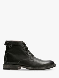 Clarks Clarkdale Bud Leather Boots Black
