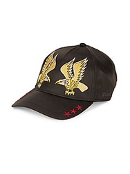 Diesel Cateen Embroidered Hat Black