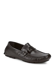 Kenneth Cole Reaction Pik N Choose Leather Loafers Black