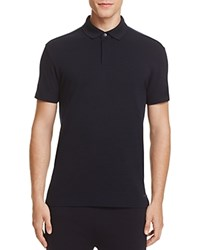 Z Zegna Techmerino Piquet Slim Fit Polo Navy