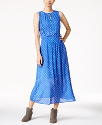 Maison Jules Printed Maxi Dress Only At Macy's Lazulite Combo