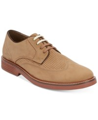 Dockers Men's Monticello Perforated Oxfords Men's Shoes Dirty Buck