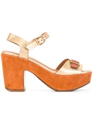 Chie Mihara Fasha Sandals Brown