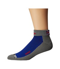 Drymax Sport Sharman 1 4 Crew 1 Pair Royale Red Anthracite Crew Cut Socks Shoes Blue