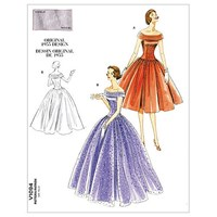 Vogue Vintage Evening Gown Sewing Pattern 1094
