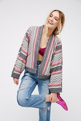 Free People Womens Open Dolman Jacket