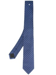 Givenchy Star Tie Blue
