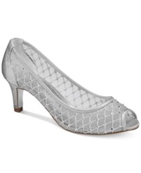 Adrianna Papell Jamie Evening Pumps Women's Shoes Silver