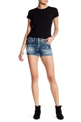 Silver Jeans Co. Aiko Mid Short Blue