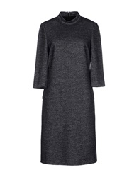 Strenesse Gabriele Strehle Knee Length Dresses Steel Grey