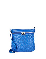 Dolce Vita Quilted Crossbody Bag Royal