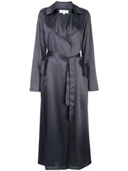 Fleur Du Mal Relaxed Fit Silk Trenchcoat 60