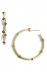 Freida Rothman Women's 'Metropolitan' Inside Out Hoop Earrings