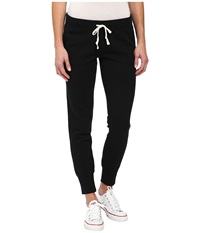 Converse Global Fit Core Signature Fleece Pants Black Women's Casual Pants