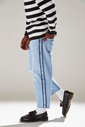 Bdg Side Stitch Straight Cropped Jean Vintage Denim Light