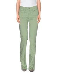 7 For All Mankind Seven7 Trousers Casual Trousers Women Light Green