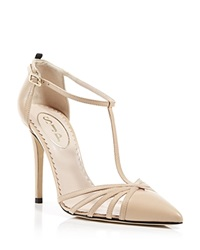 Sjp By Sarah Jessica Parker Pumps Carrie Cage High Heel Nude