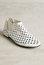 Anthropologie Elodie Bruno Baby Jane Booties White 36 Euro Boots