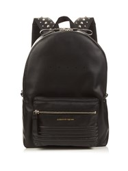 Alexander Mcqueen Studded Straps Leather Backpack