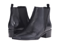 Marc Fisher Ltd Yale Black Leather Women's Dress Pull On Boots