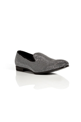 Sergio Rossi Studded Suede Slip Ons