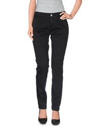 Care Label Trousers Casual Trousers Women Black