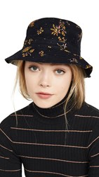 Madewell Corduroy Bucket Hat Cord Floral True Black