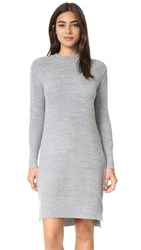 The Fifth Label Inner Reflection Knit Dress Grey Marle