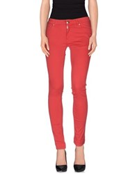 Liviana Conti Trousers Casual Trousers Women Red