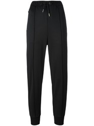 Twin Set Tapered Cropped Trousers Black