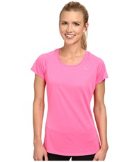 New Balance Accelerate S S Tee Amp Pink Amp Pink Women's Short Sleeve Pullover