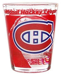 Hunter Manufacturing Montreal Canadiens 3D Collector Glass Team Color