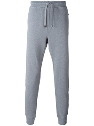 Dolce And Gabbana Tapered Track Pants Grey