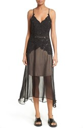 Tracy Reese Women's Silk Lace Slipdress
