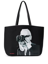 Karl Lagerfeld Legend Photographer Tote Bag 60