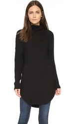 Ever Ames Mock Tunic Black