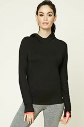 Forever 21 Active Classic Hoodie Black