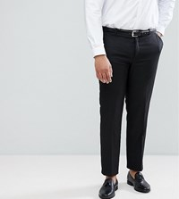 Heart And Dagger Plus Skinny Suit Trousers Black Grey