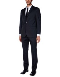 Peter Reed Suits Dark Blue