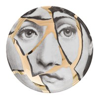 Fornasetti Tema E Variazioni Ashtray Gold No. 2