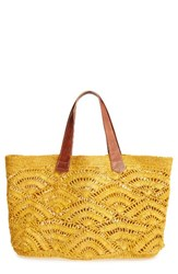 Mar Y Sol Tulum Tote Yellow Sunflower