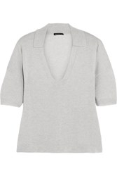 James Perse Cashmere Top Gray