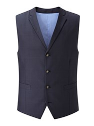 Skopes Men's Aintree Wool Blend Waistcoat Navy